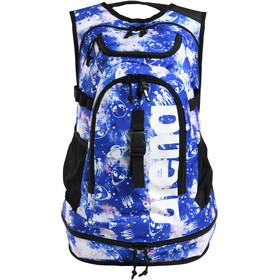 arena Fastpack 2.2 Allover Backpack, blu/bianco